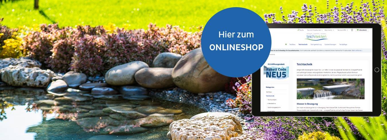 teichitekten Onlineshop (B2B)