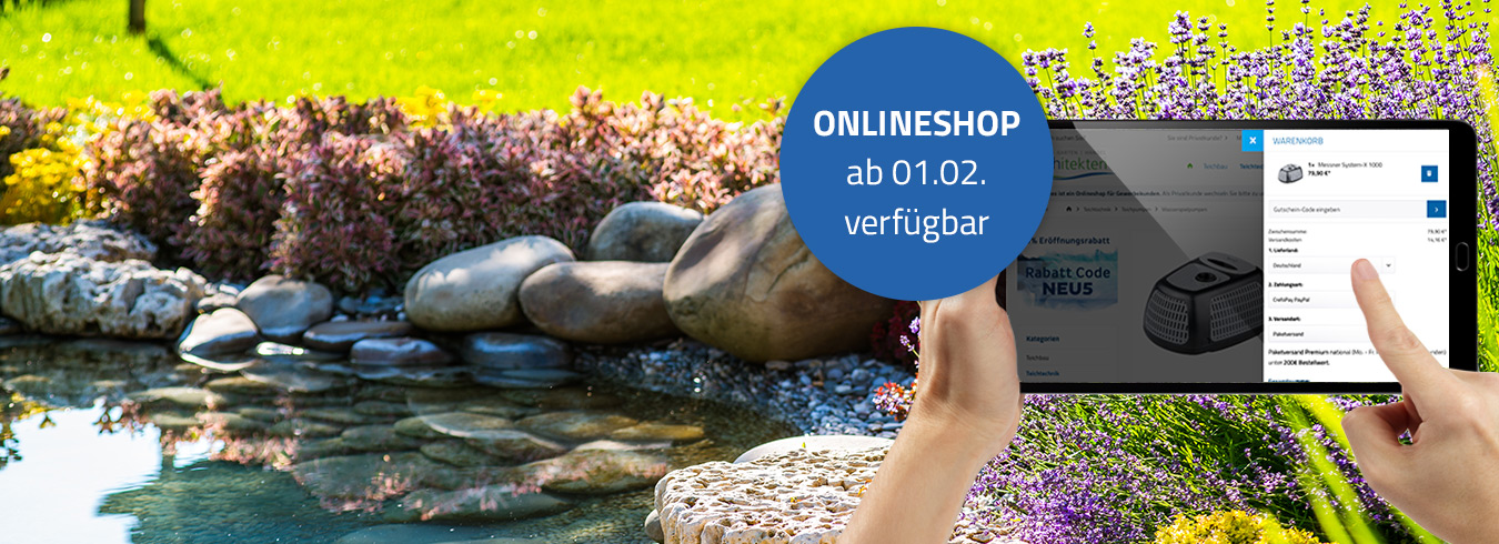 teichitekten Onlineshop (B2B)